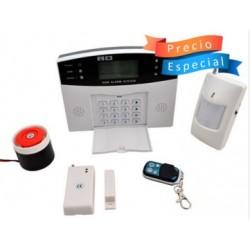 ALARMA INALÁMBRICA GSM SMS/ TRABAJA CON LÍNEA CELULAR